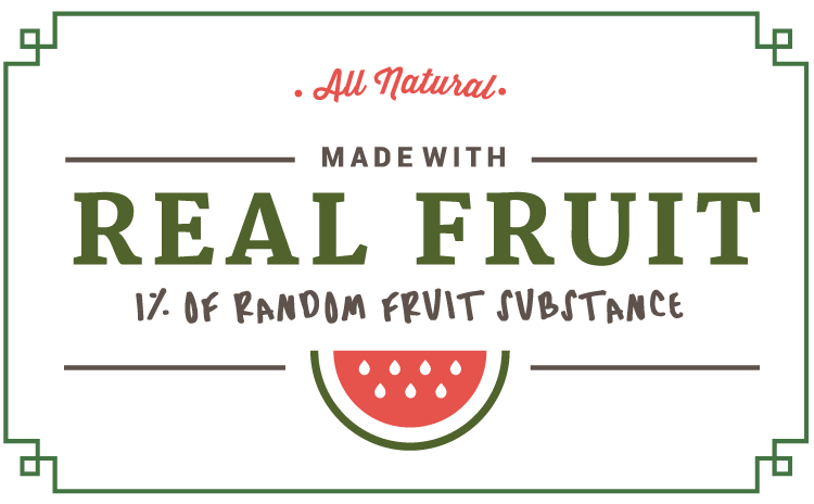 real-fruit