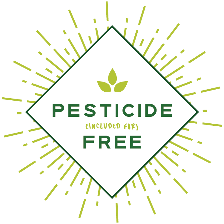Pesticide Free Food Label