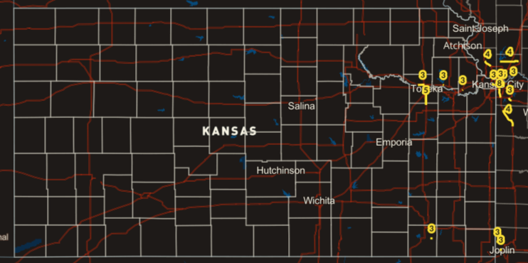 Deadliest Highway Stretches in Kansas
