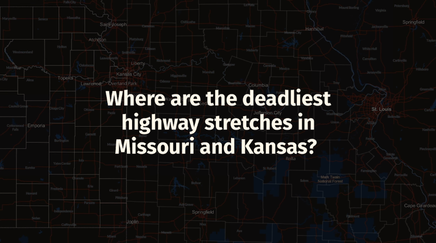 Deadliest Highway Stretches in KS and MO